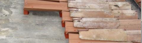 Sistema ventilazione e fissaggio coppo
